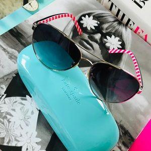 KATE SPADE Blossom Aviator Sunglasses - LIKE NEW!